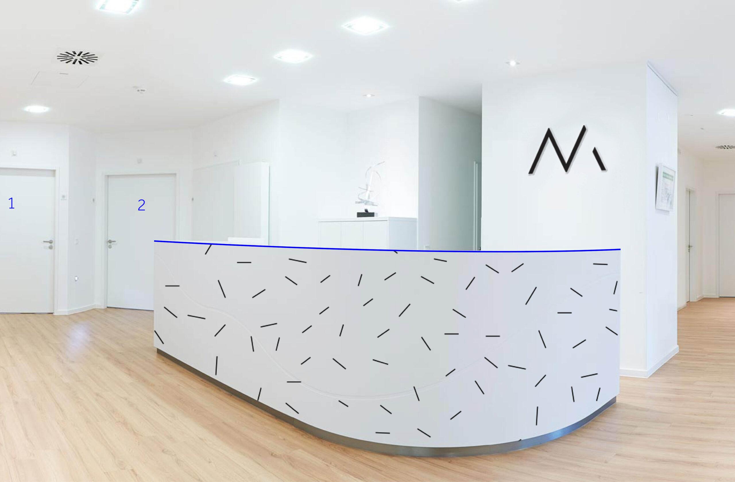 Praxis Dr. Maximilian Neuwirth │ Corporate Design, Logo